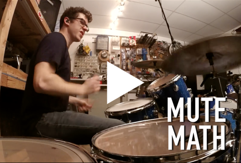 Allies (Mute Math Drum Cover)